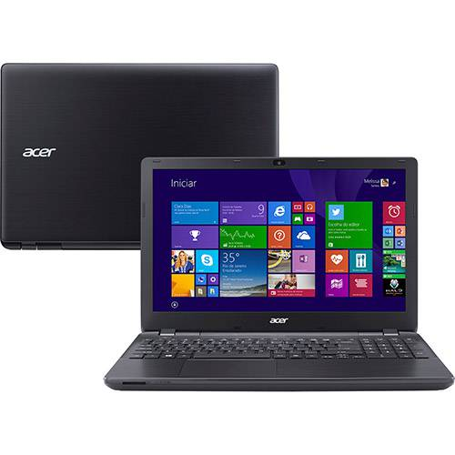 "Notebook Acer E5-571-32EG Intel Core I3 4GB 500GB Tela LED 15.6"" Windows 8.1 - Preto"