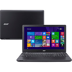 "Notebook Acer E5-571-32EG Intel Core I3 4GB 500GB Tela LED 15,6"" Windows 8.1 Preto"