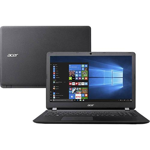 "Notebook Acer ES1-572-51NJ Intel Core I5 4GB 1TB LED 15.6"" Windows 10 - Preto"