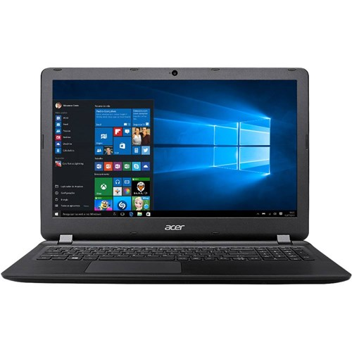 "Notebook Acer ES1-572-3562 Intel Core I3 4GB 1TB Tela LED 15.6"" Windows 10 - Preto"