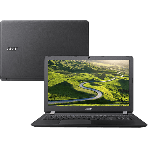 "Notebook Acer ES1-572-36XW Intel Core I3 4GB 1TB Tela LED 15,6"" Windows 10 - Preto"