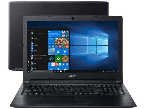 "Notebook Aspire 3 A315-53-55DD Intel Core I5 - 4GB 1TB 15,6"" Windows 10 - Acer"