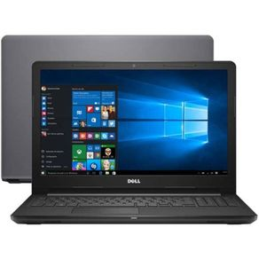 "Tudo sobre 'Notebook Dell Inspiron I15-3576-A70C Intel Core I7 8GB 2TB 15.6"" Placa de Vídeo 2GB Win10'"