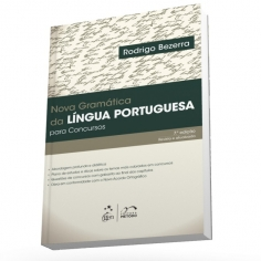 Nova Gramatica da Lingua Portuguesa para Concursos - Metodo - 1