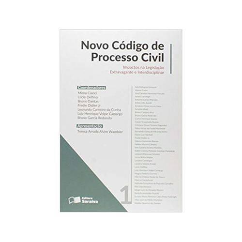 Novo Código de Processo Civil 1ªed. - Saraiva