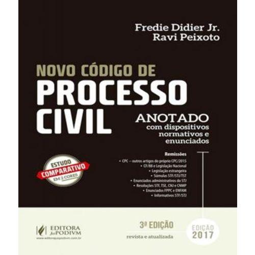 Novo Codigo de Processo Civil - Anotado - 03 Ed