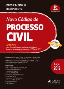Tudo sobre 'Novo Código de Processo Civil Anotado (2019)'