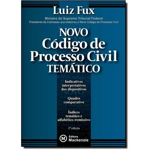 Novo Código de Processo Civil Temático