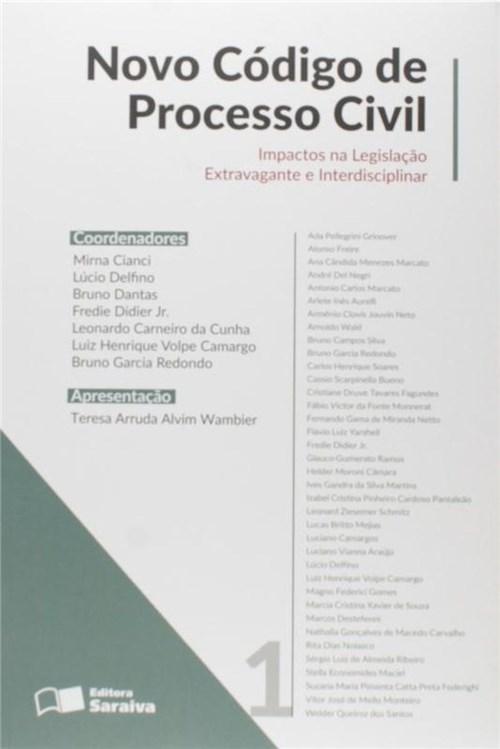 Novo Codigo de Processo Civil - Vol. 1
