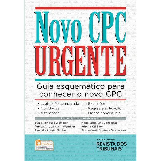 Tudo sobre 'Novo Cpc Urgente - Rt'
