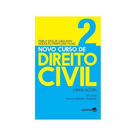 Novo Curso de Direito Civil - Obrigações - Vol. 2 - 20ª Ed. 2019