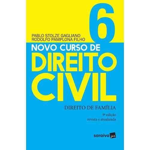 Novo Curso de Direito Civil - Vol 6 - Saraiva