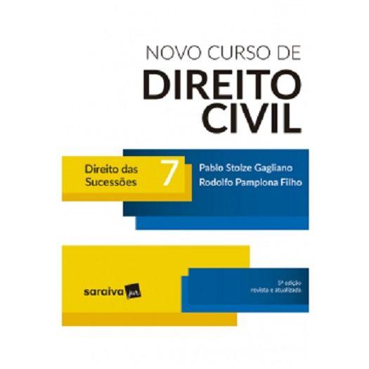 Novo Curso de Direito Civil - Vol 7 - Saraiva - 5 Ed