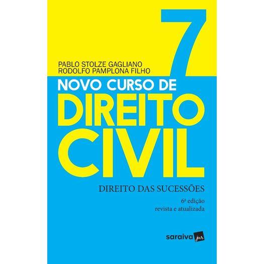 Novo Curso de Direito Civil - Vol 7 - Saraiva