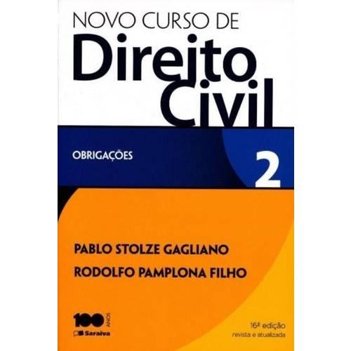 Novo Curso de Direito Civil - Vol. 2 - Obrigacoes
