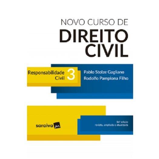 Novo Curso de Direito Civil - Vol 3 - Saraiva - 16 Ed