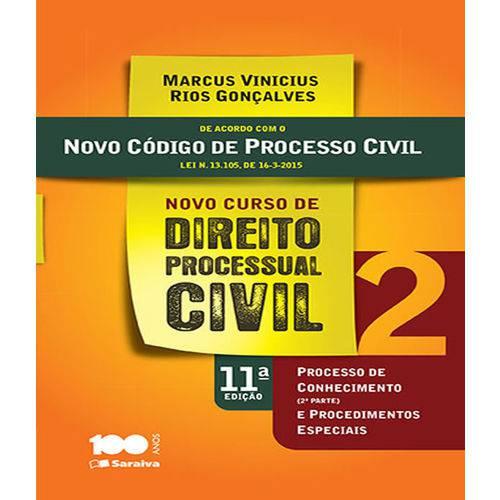 Novo Curso de Direito Processual Civil - Vol 02 - 11 Ed