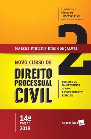 Novo Curso de Direito Processual Civil Vol. 2 - 14ª Ed