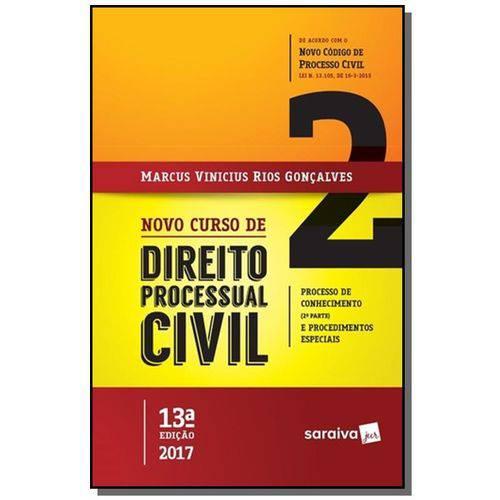 Novo Curso de Direito Processual Civil - Vol. 2
