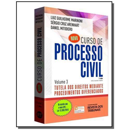 Novo Curso de Processo Civil: Tutela dos Direito04