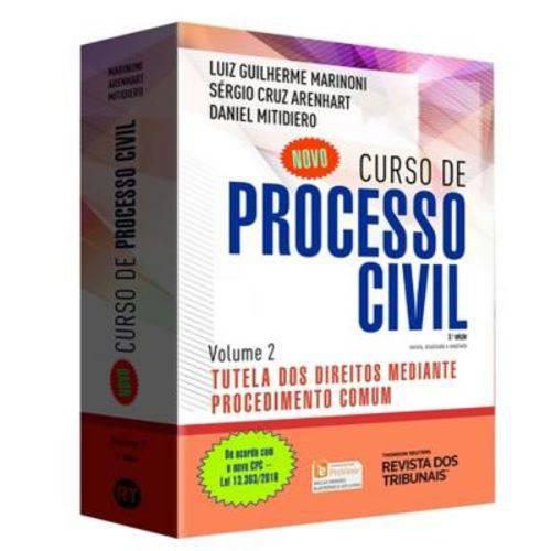Novo Curso de Processo Civil - Vol 02 - 03 Ed