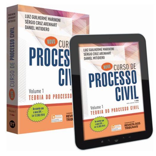 Novo Curso de Processo Civil - Vol 1 - Rt - 3ed