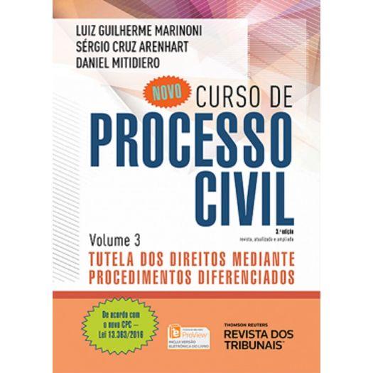 Novo Curso de Processo Civil - Vol 3 - Rt - 3ed