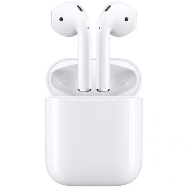 (Novo) Fone de Ouvido Apple AirPods, com Estojo de Recarga