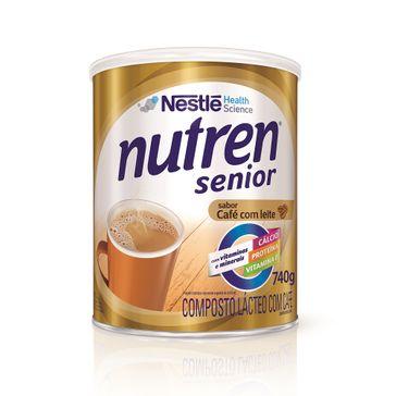 Nutren Senior Café com Leite 740g
