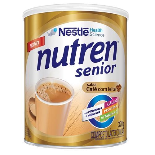 Nutren Senior Café com Leite Suplemento Alimentar 370g