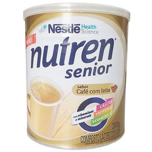 Nutren Senior Composto Lácteo Sabor Café com Leite Lata 370g