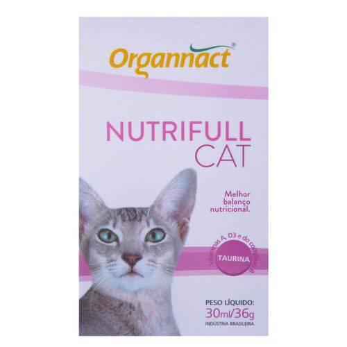 Tudo sobre 'Nutrifull Cat 30g'