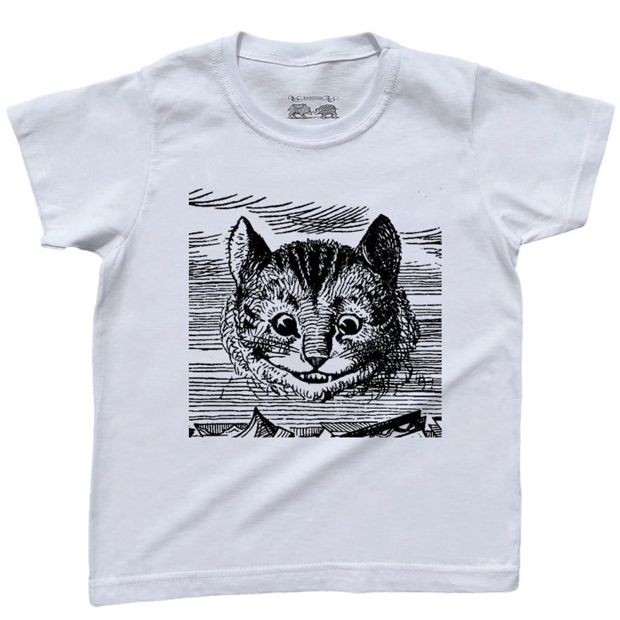 O Gato de Cheshire / Azul Marinho / 10