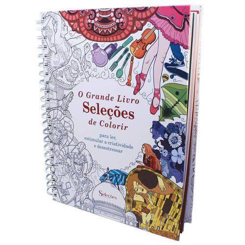 O Grande Livro Seleções para Colorir