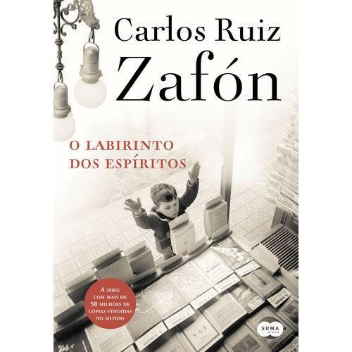 O Labirinto dos Espíritos - 1ª Ed.