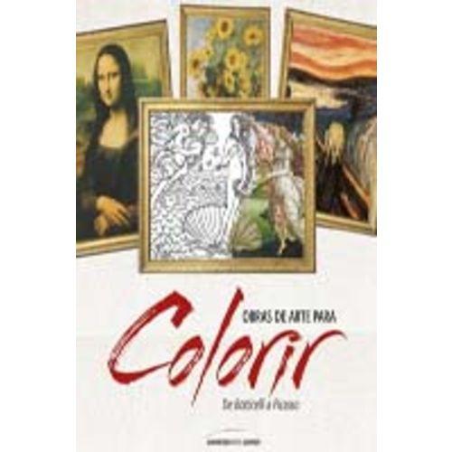 Obras de Arte para Colorir
