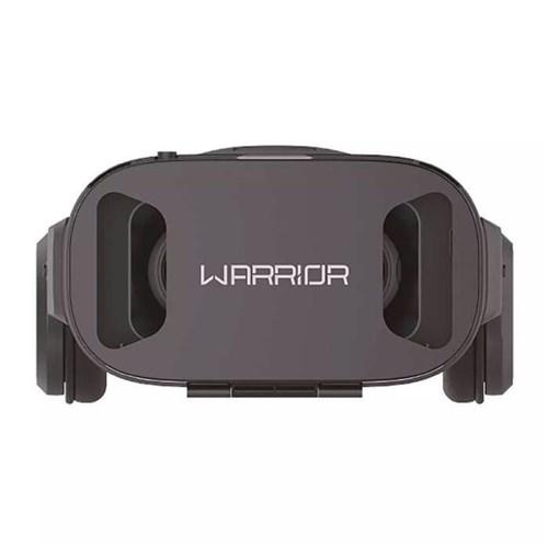Óculos 3D Realidade Virtual com Headphone Warrior - Js086