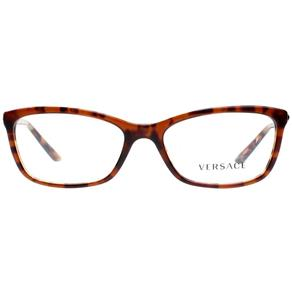 Óculos de Grau Versace VE3186 5077/54 - MARROM