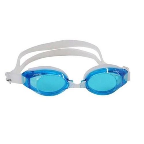 Óculos de Natação Adulto Fusion Azul Claro - Nautika