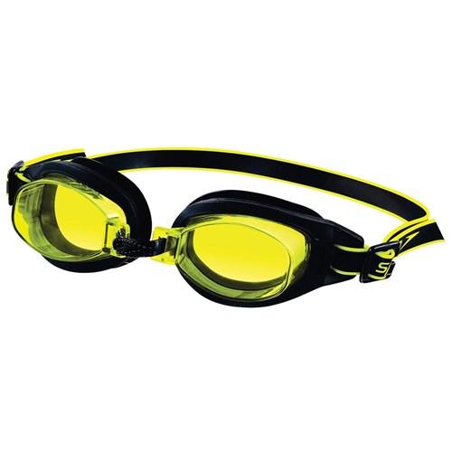 Óculos de Natação Freestyle 3.0 Preto e Amarelo Speedo