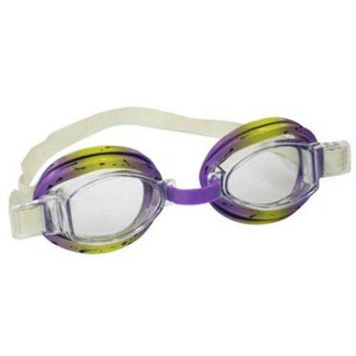 Tudo sobre 'Óculos de Natação Infantil Split Roxo e Amarelo - Nautika'