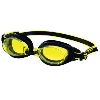 Óculos de Natação Speedo Freestyle 3.0 Preto Amarelo Único