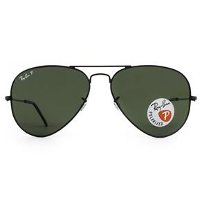Óculos de Sol Aviator RB3025L 002/58-62 Polarizado - Preto