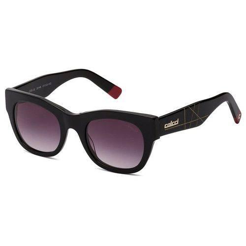 Tudo sobre 'Oculos de Sol Colcci 504414033 Preto Brilho Vermelgo Lente Cinza Degradê'