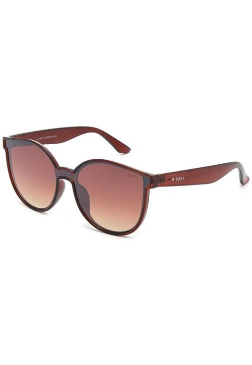 Óculos de Sol Equus Máscara Redondo Marrom