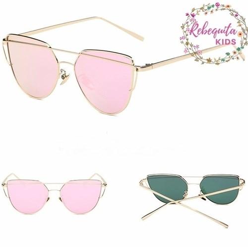 Óculos de Sol Espelhado Dior Starlight Inspired Adulto Rosê (Rosê, Adulto)