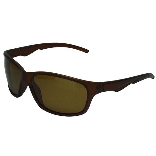 Óculos de Sol Esportivo Masculino Polarizado Marrom