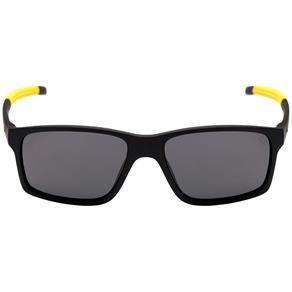Óculos de Sol Hb Mystify Matte Black D. Yellow/ Gray Unico