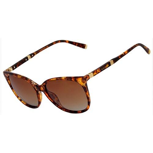 Óculos de Sol Kallblack Modelo SFAP023 Marrom