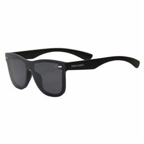 Óculos de Sol Mackage Unissex AMK18140101C40 Preto - PRETO - ÚNICO